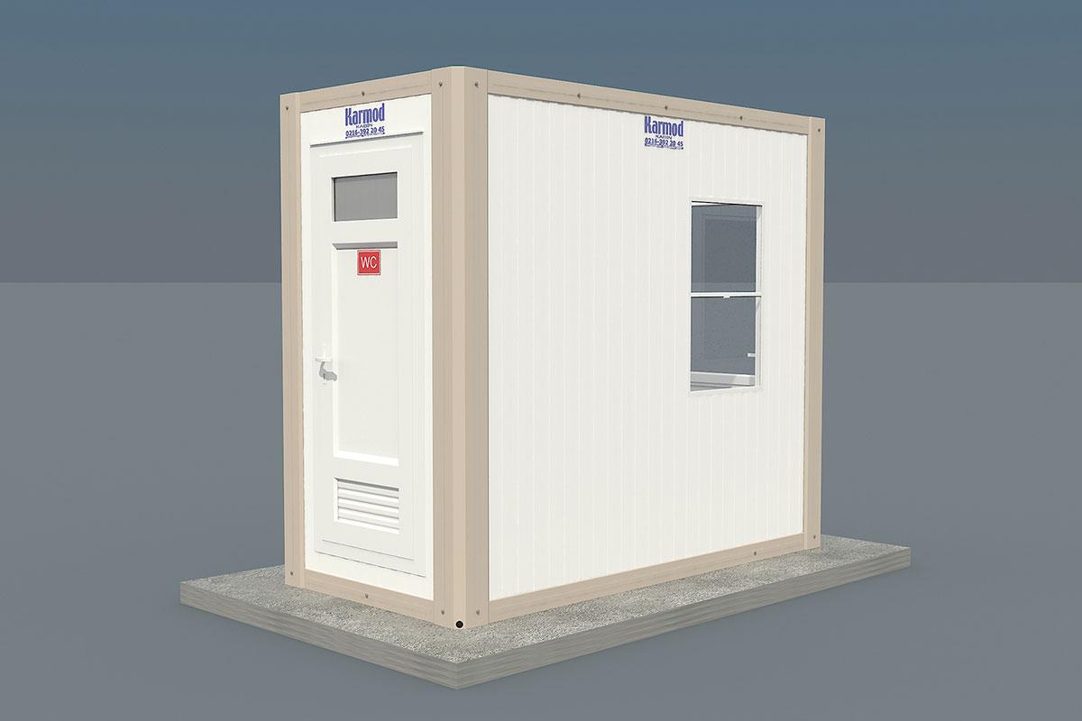 Panel Kabin Wc Güvenlik 135x260