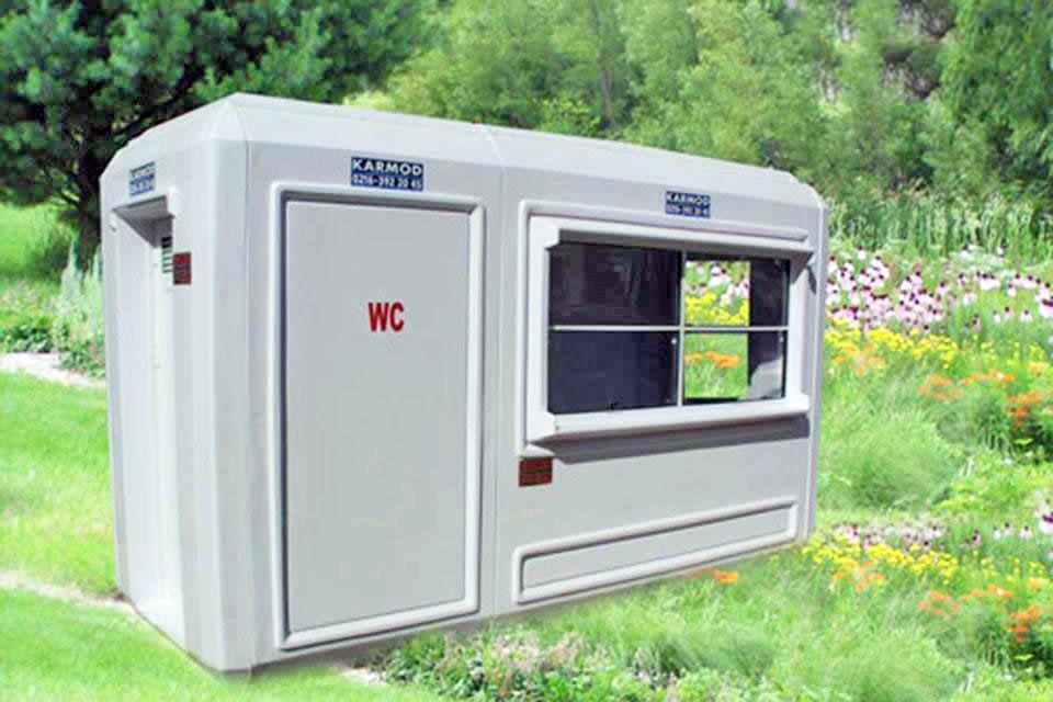 Wc Güvenlik Kabini 150x390