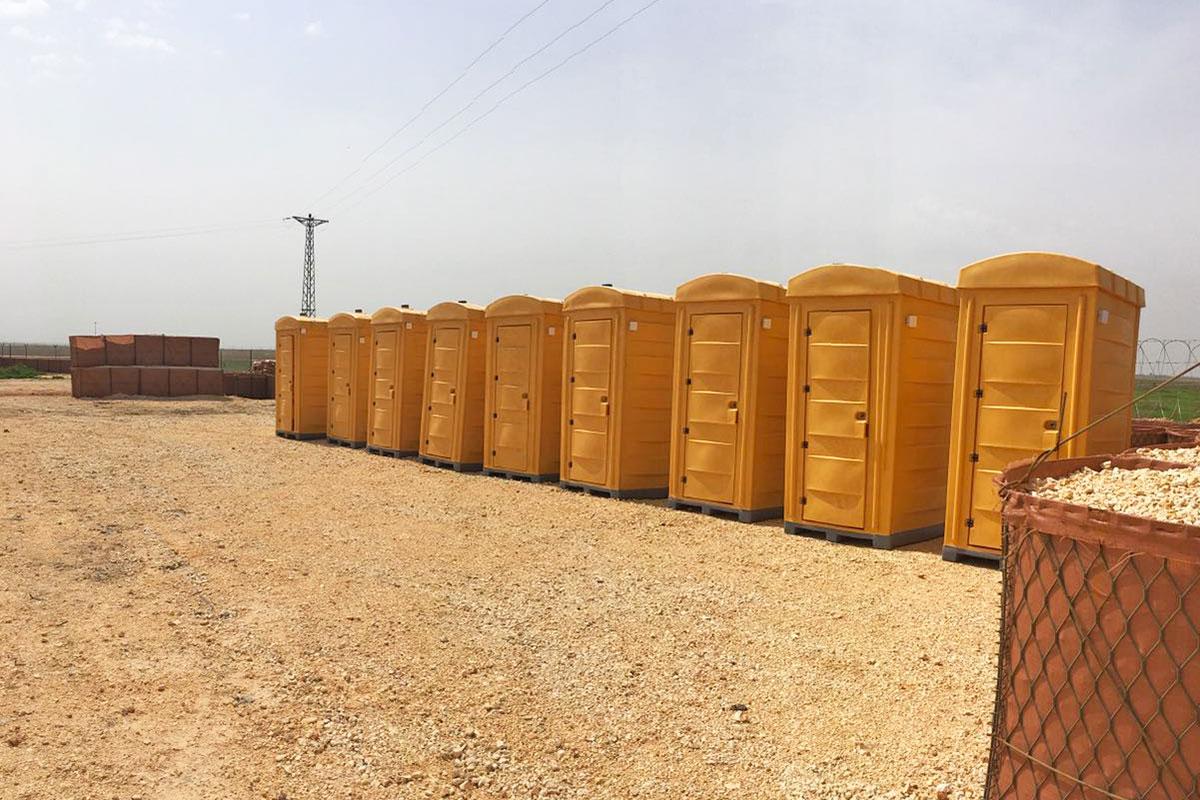 Polietilen Mobil Tuvalet
