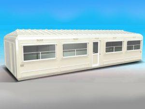 Ofis ve Büfe Kabini 390x1110